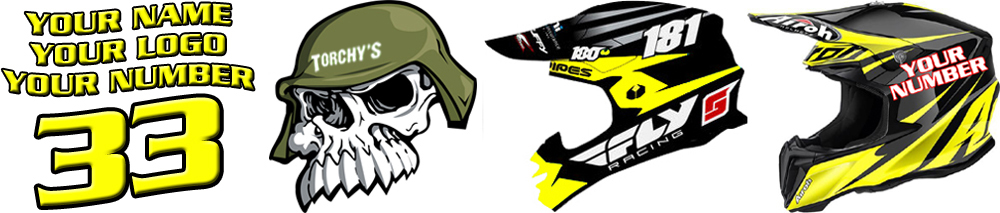 Custom mx graphics decals to customize your own dirt bike for mx and dirt bike graphic